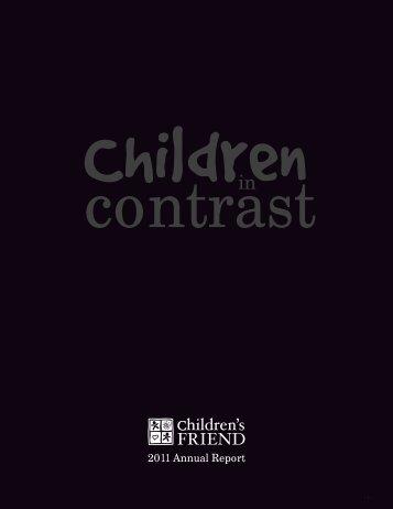 2011 Annual Report - Children's Friend
