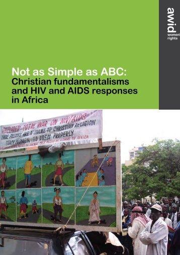Not as Simple as ABC: Christian ... - ARC International
