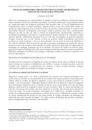 6e Rencontres de Macon, 13 et 14 septembre 2007-06-01