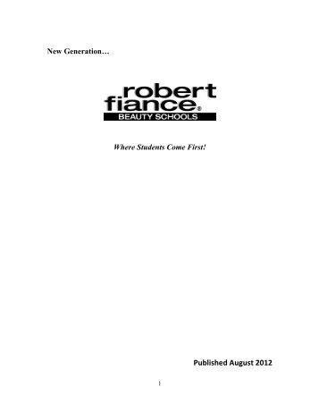 Published August 2012 - Robert Fiance Beauty Schools