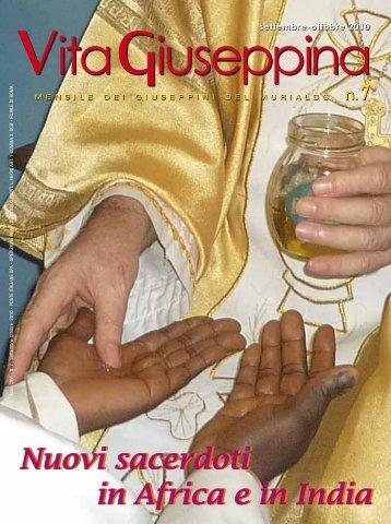 """""""Vita Giuseppina"""" di Settembre/Ottobre 2010 - Giuseppini del Murialdo"""