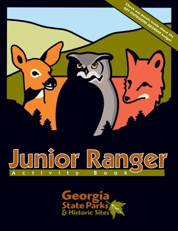 Junior Ranger - Georgia State Parks