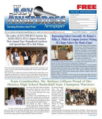 June - Key Awareness