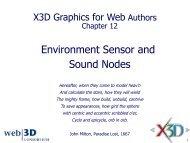 Sliding - Extensible 3D Graphics for Web Authors