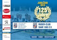 Programm - Ruder Club Saar 1885 eV