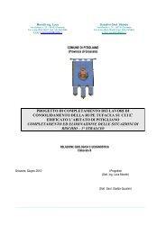 Elaborato B Relazione geologica e geognostica - Comune di ...