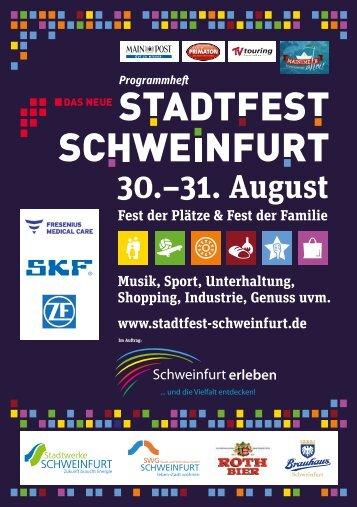 30.–31. August - Stadtfest Schweinfurt