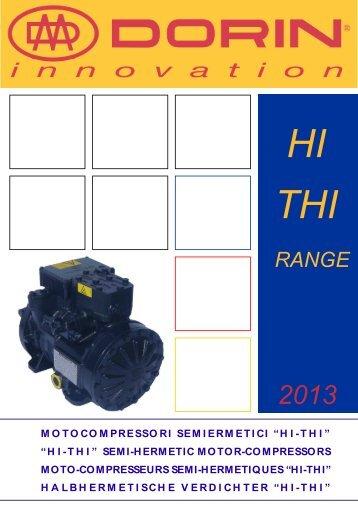 1LTZ013_HI-THI_1301_Catalogo Compressori per Inverter - Dorin