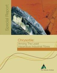 Download pdf file - Chrysotile