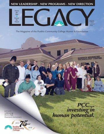 12 LEGACY mag07 v3-1 INSIDE 080609 - Pueblo Community College