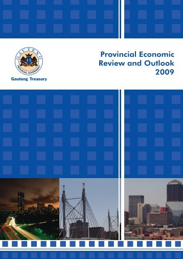 Provincial Economic Review and Outlook 2009 - Gauteng Online