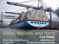 Cities, Nations, and Ports - cuzproduces