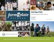 Charting a Path: - Vermont Sustainable Jobs Fund