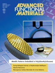 Metallic Patterns Embedded in Poly(dimethylsiloxane) - Flexible and ...