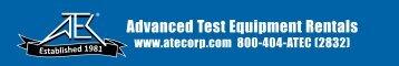 Datasheet - AEMC Instruments