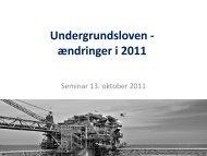 Presentation – Undergrundsloven – ændringer 2011 - Sandroos ...
