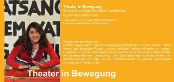 Theater in Bewegung - GRIPS Werke