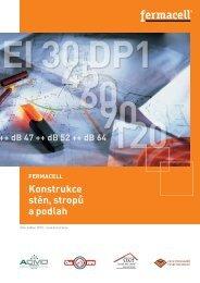 Konstrukce stěn, stropů a podlah - Fermacell