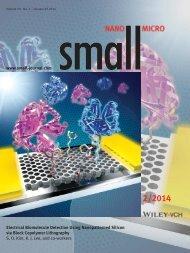 Electrical Biomolecule Detection Using Nanopatterned ... - KAIST