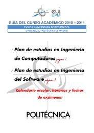 1. Plan de estudios en Ingeniería de Computadores ... - Baykock