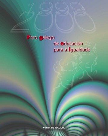 Foro Galego de Educación para a Igualdade - Mulleres en Galicia