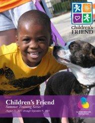 Summer 2011 Training Brochure - Children's Friend