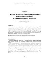 The New Science of Anti-Aging Hormone Replacement Therapy: A ...