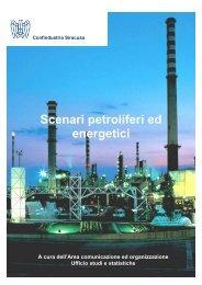 IL MERCATO PETROLIFERO ITALIANO - Confindustria Siracusa