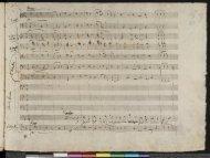 Wolfgang Mozart: Die Zauberflote: O Isis und Osiris facsimile score