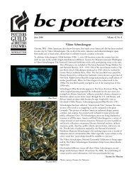 Jun. - Potters Guild of BC