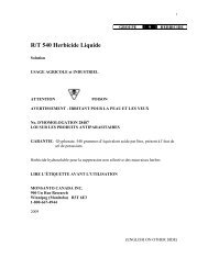 R/T 540 Herbicide Liquide - Monsanto