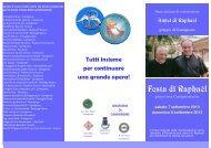 Allegato [pdf]: Programma festa - Fondazione Laudato Si
