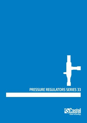 PRESSURE REGULATORS SERIES 33 - Berling