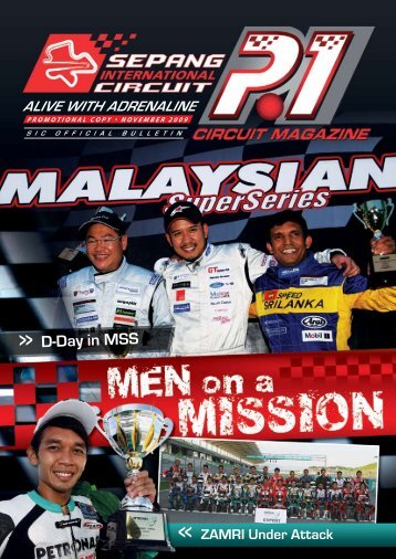 Alive with AdrenAline - Sepang International Circuit