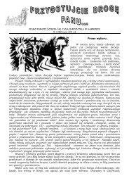 Nr. 8 (58) Lipiec 2011 rok - Parafia Ścięcia Św. Jana Chrzciciela w ...
