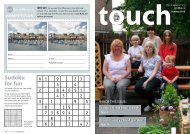 In Touch summer 2010 - Teign Housing