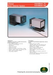 AutroBeam 75 Infrared Beam Detector System ... - Tecniquitel