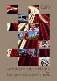 raport odpowiedzialnego biznesu 2008 - Raporty Społeczne