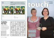 In Touch spring 2009 - Teign Housing