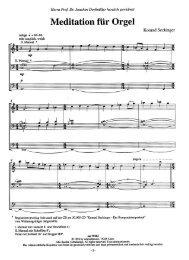 Meditation für Orgel - Schmidmusic.de