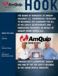Winter 2011 Newsletter - AmQuip
