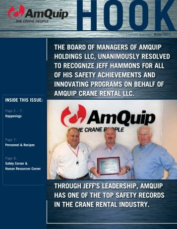 Winter 2011 Newsletter - AmQuip