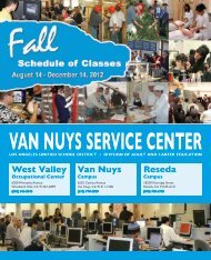 Van Nuys Service Center - West Valley Occupational Center