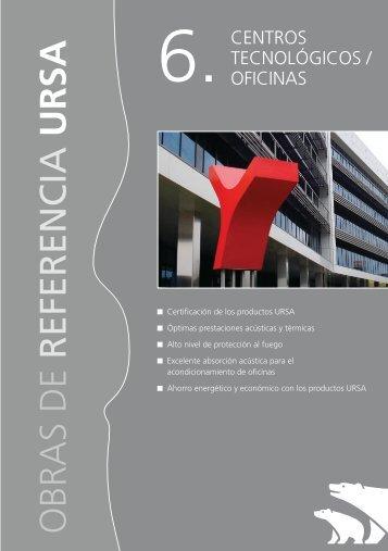 Centros Tecnológicos / Oficinas - Ursa