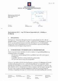 Tildelingsbrev - Statens legemiddelverk