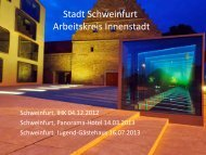 SWerl Projekte Juli 2013 - Schweinfurt erleben e.V.