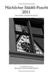 Nüchilcher Städtli-Poscht 2011 - Gemeinde Neunkirch