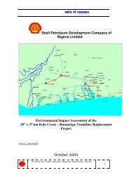 Shell Petroleum Development Company of Nigeria Limited ...