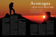 38-42 Aconcagua - Friluftsliv