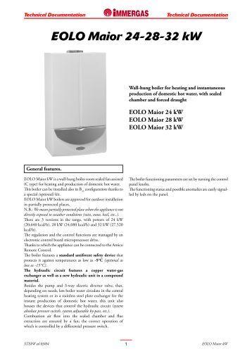 Eolo star 23 kw immergas for Caldaia immergas eolo maior 24 kw prezzo